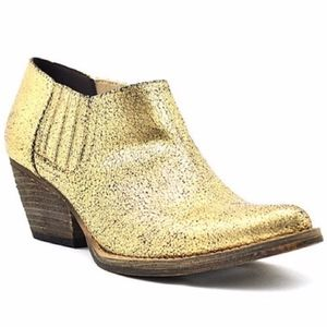 Very Volatile Canton Western Crackle Leather boots